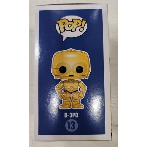 #13 - C-3PO (Cromato)  (Stato: Nuovo con Scatola Danneggiata)
