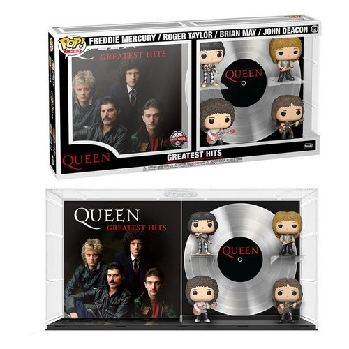 #21 - Queen Albums: Greatest Hits Figure 4-Pack  (Stato: Nuovo)