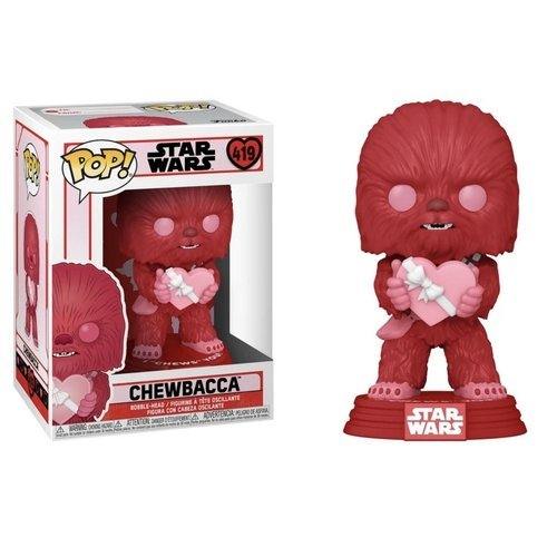 #419 - Chewbacca (Valentines)  (Stato: Nuovo)