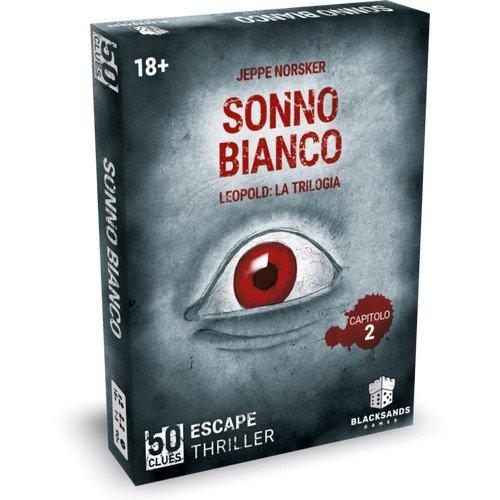 50 Clues, Leopold: 2 Sonno Bianco  (Lingua: Italiano - Stato: Nuovo)