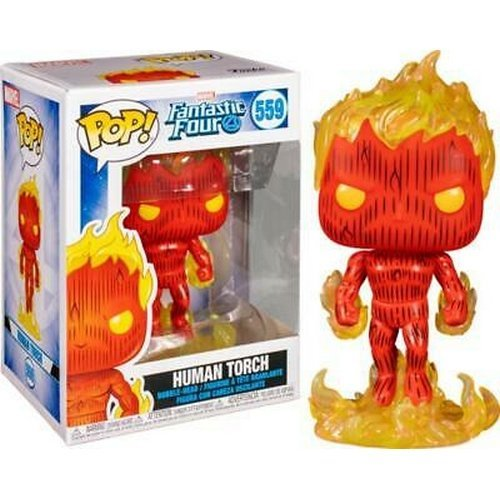 #559 - Human Torch  (Conditions: New)