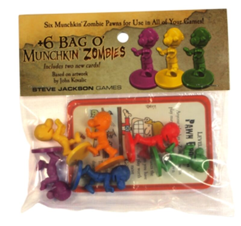 +6 Bag o'Munchkin Zombies  (Lingua: Inglese - Stato: Nuovo)