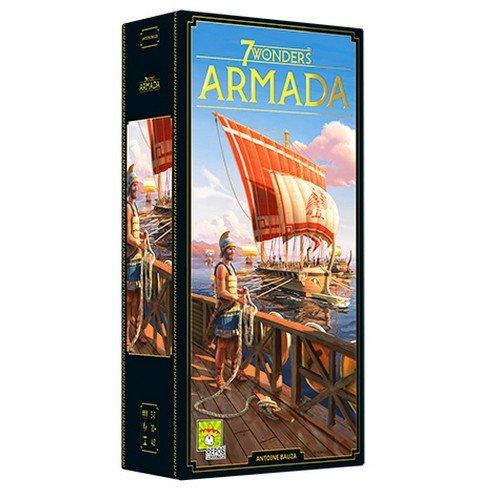 7 Wonders (Nuova Edizione): Armada Espansione  (Lingua: Italiano - Stato: Nuovo)