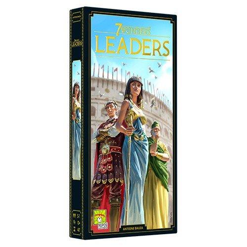 7 Wonders (Nuova Edizione): Leaders Espansione  (Lingua: Italiano - Stato: Nuovo)