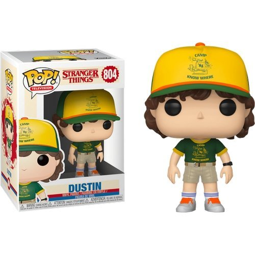 #804 - Dustin (at Camp - Green T-Shirt)  (Stato: Nuovo)