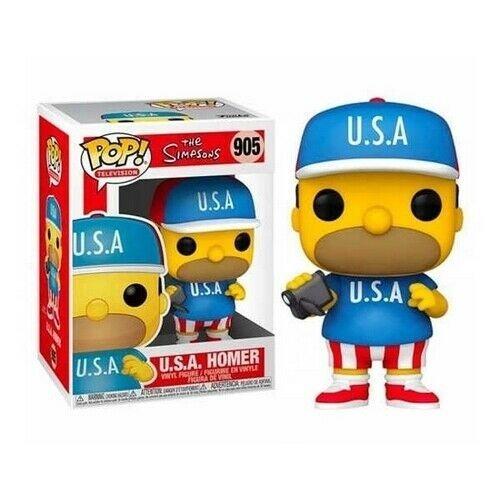 #905 - U.S.A. Homer  (Stato: Nuovo)