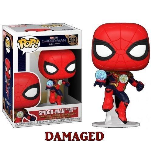 #913 - Spider-Man Integrated Suit  (Stato: Nuovo con Scatola Danneggiata)