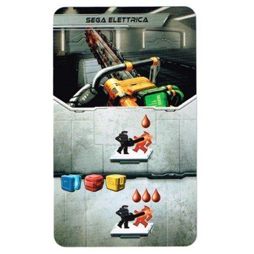 Adrenalina: Carta Promo Sega Elettrica  (Lingua: Italiano - Stato: Nuovo)
