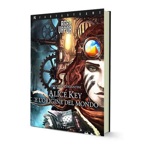 Age of Vapor 1: Alice Key e l'Origine del Mondo  (Lingua: Italiano - Stato: Nuovo)