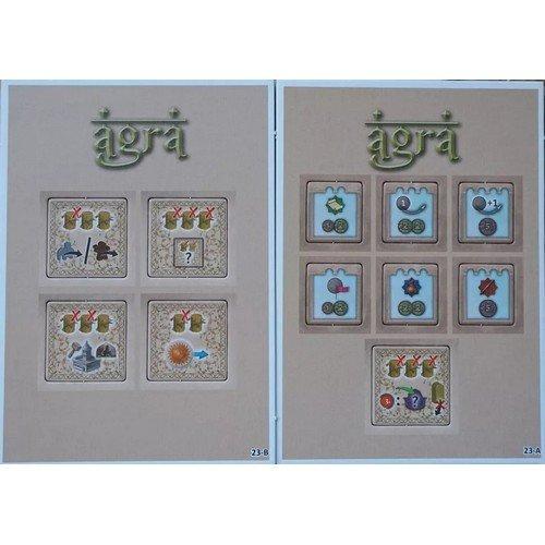 Agra: Mini Expansion 1  (Lingua: Inglese, Francese, Tedesco, Olandese - Stato: Nuovo)