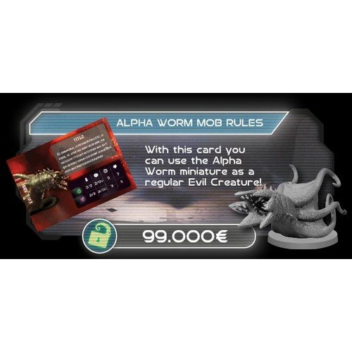 Alone: Promo Kickstarter Alpha Worm Mob Stretch Goal ITALIANO  (Lingua: Italiano - Stato: Nuovo)