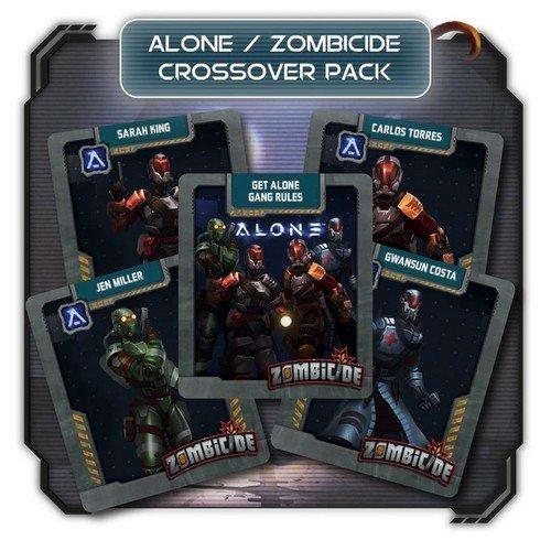 Alone: Promo Kickstarter Zombicide Invader Crossover  (Lingua: Inglese - Stato: Nuovo)