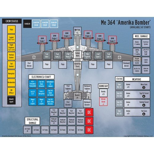 Amerika Bomber: Evil Queen of the Skies  (Lingua: Inglese - Stato: Nuovo)