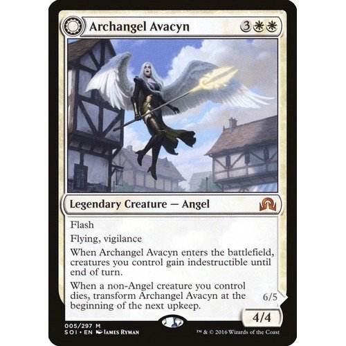 Arcangelo Avacyn / Avacyn, la Purificatrice  (Lingua: Inglese - Stato: Near Mint)