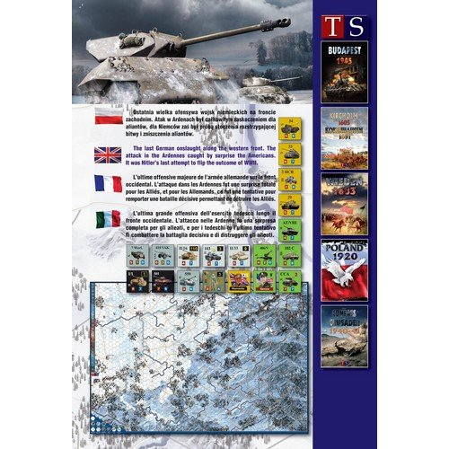 Ardennes 1944-45  (Lingua: Italiano, Inglese, Francese, Polacco - Stato: Nuovo)