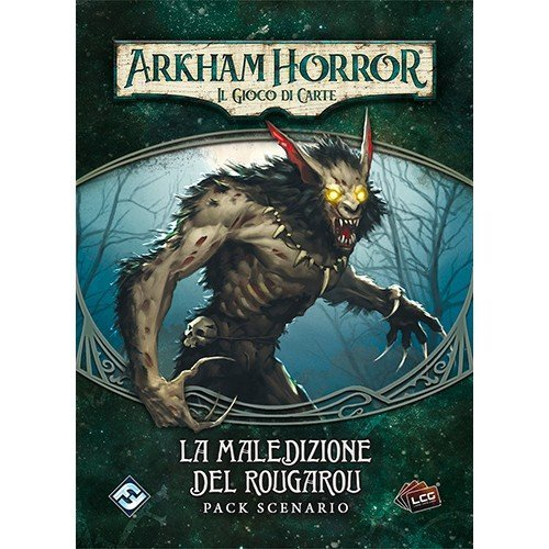 Arkham Horror LCG: Curse of the Rougarou Scenario Pack  (Language: Italian - Conditions: New)