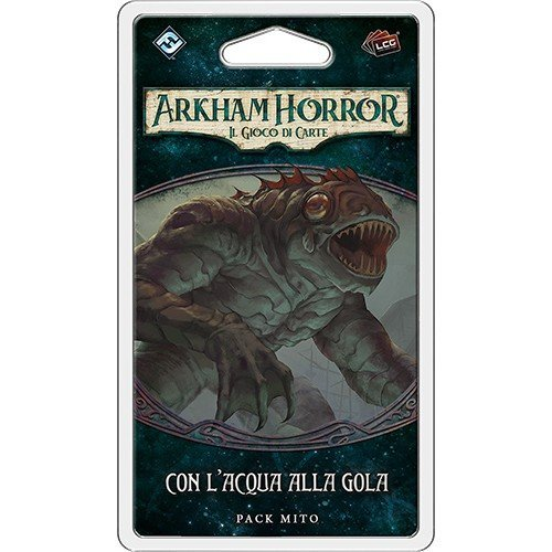 Arkham Horror LCG: La Cospirazione di Innsmouth, Con l'Acqua alla Gola Pack Mito  (Lingua: Italiano - Stato: Nuovo)