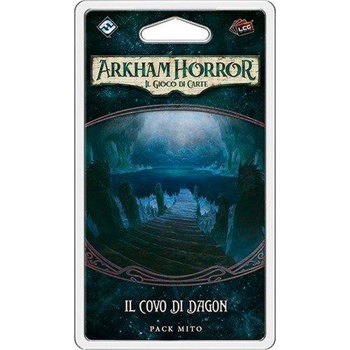 Arkham Horror LCG: La Cospirazione di Innsmouth, Il Covo di Dagon Pack Mito  (Lingua: Italiano - Stato: Nuovo)