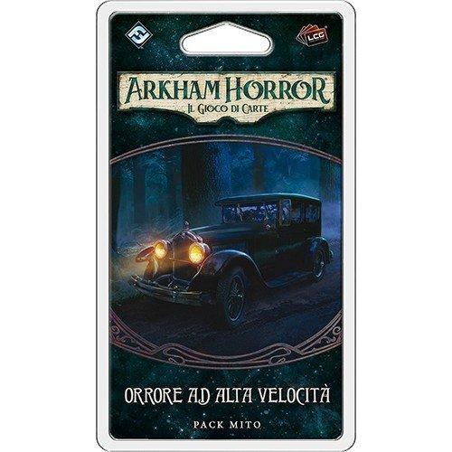 Arkham Horror LCG: La Cospirazione di Innsmouth, Orrore ad Alta Velocità Pack Mito  (Lingua: Italiano - Stato: Nuovo)