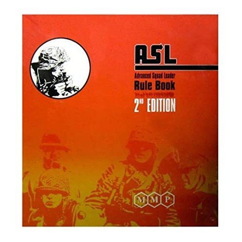ASL Advanced Squad Leader Rule Book, 2nd Edition  (Language: English - Conditions: New)