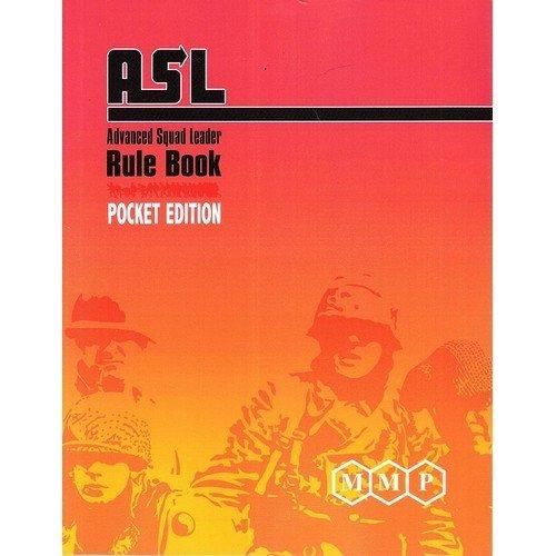 ASL Advanced Squad Leader Rule Book, Pocket Edition  (Lingua: Inglese - Stato: Nuovo)