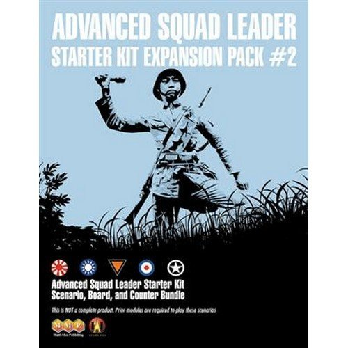 ASL Advanced Squad Leader Starter Kit Expansion Pack #2  (Lingua: Inglese - Stato: Nuovo)