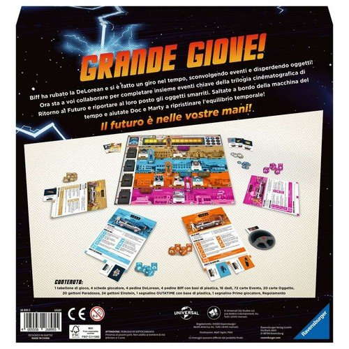 Back to the Future Dice Through Time  (Lingua: Italiano - Stato: Nuovo)