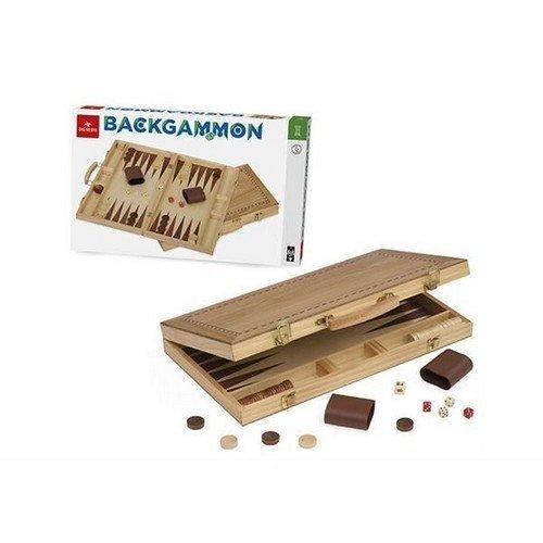 Backgammon  (Lingua: Italiano, Inglese, Francese, Tedesco - Stato: Nuovo)