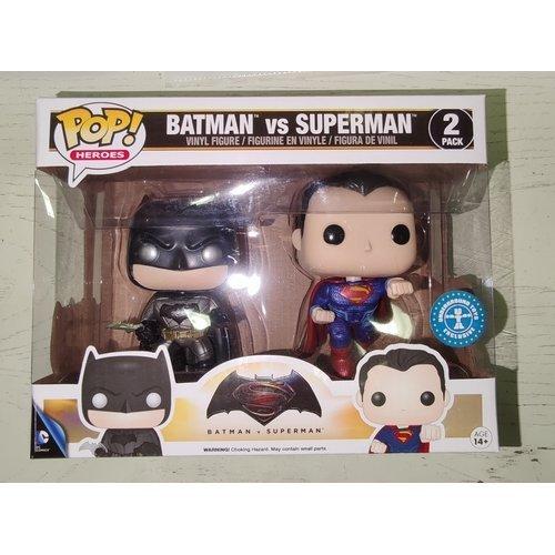 Batman vs Superman (2 Pack)  (Stato: Nuovo con Scatola Danneggiata)