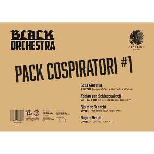 Black Orchestra Pack Cospiratori #1  (Lingua: Italiano - Stato: Nuovo)