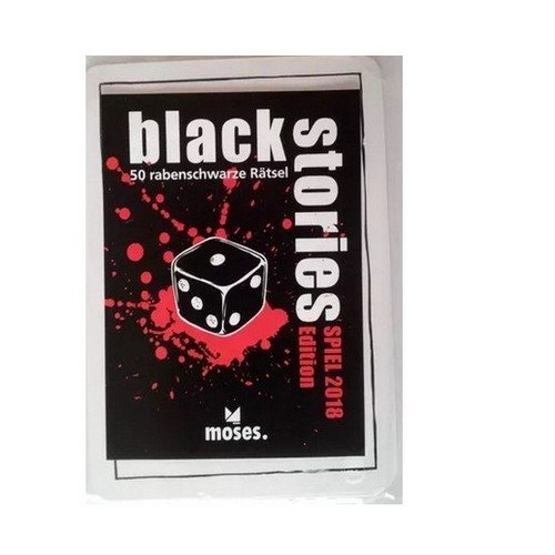 Black Stories: Spiel 2018 Promo Edition  (Lingua: Inglese, Tedesco - Stato: Nuovo)