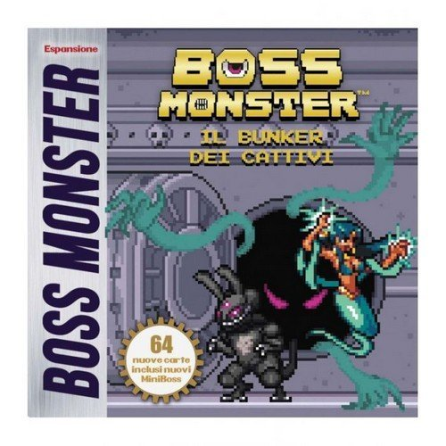 Boss Monster: Il Bunker dei Cattivi - Espansione  (Lingua: Italiano - Stato: Nuovo)