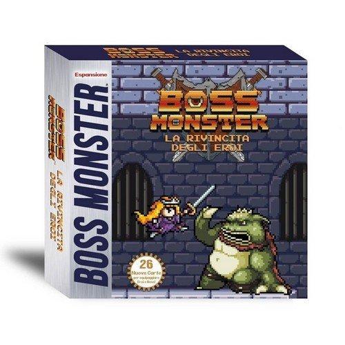 Boss Monster: La Rivincita degli Eroi - Espansione  (Lingua: Italiano - Stato: Nuovo)