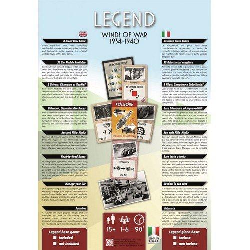 BUNDLE Legend Gioco Base + Winds of War 1934-1940  (Lingua: Italiano, Inglese - Stato: Nuovo)