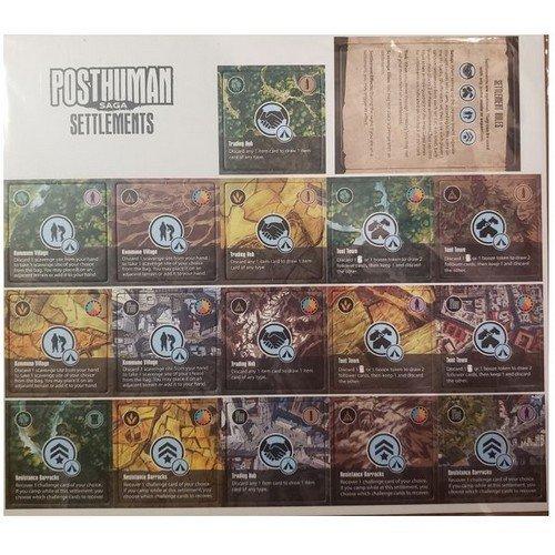 BUNDLE Posthuman Saga, Kickstarter Edition  (Lingua: Inglese - Stato: Nuovo)