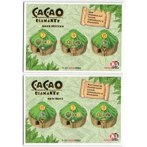 Cacao, Diamante: Espansione Promo Nuove Capanne  (Lingua: Inglese, Tedesco - Stato: Nuovo)