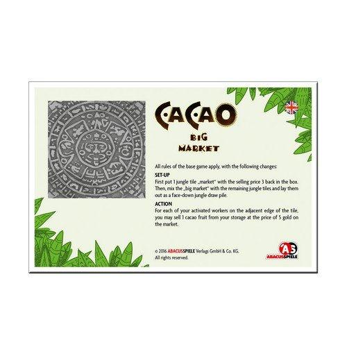 Cacao, Espansione Promo Grande Mercato  (Lingua: Inglese, Tedesco - Stato: Nuovo)