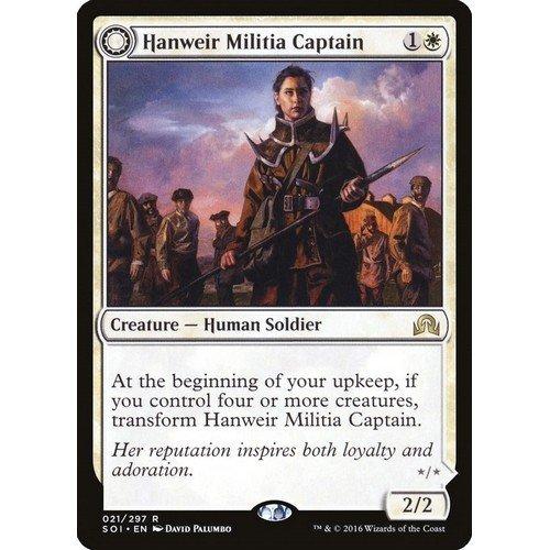 Capitana della Milizia di Hanweir / Caposetta della Vestvalle  (Lingua: Inglese - Stato: Near Mint)