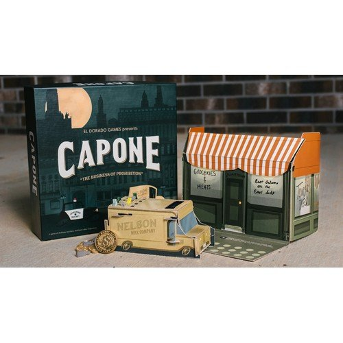 Capone, The Business of Prohibition KICKSTARTER  (Lingua: Inglese - Stato: Nuovo)