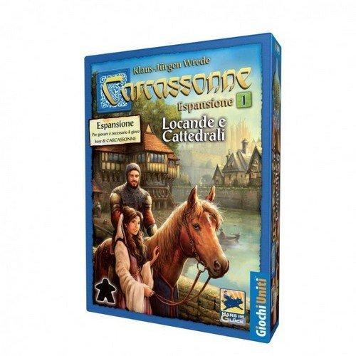 Carcassonne: Espansione 1, Locande e Cattedrali  (Lingua: Italiano - Stato: Nuovo)