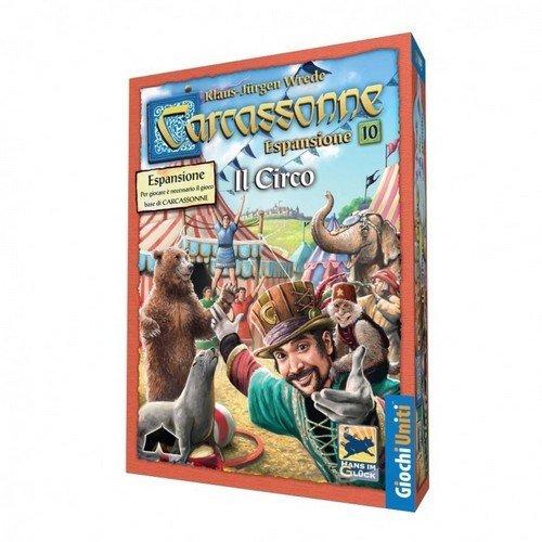 Carcassonne: Espansione 10, Il Circo  (Lingua: Italiano - Stato: Nuovo)