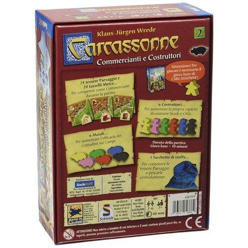 Carcassonne: Espansione 2, Commercianti e Costruttori  (Lingua: Italiano - Stato: Nuovo)