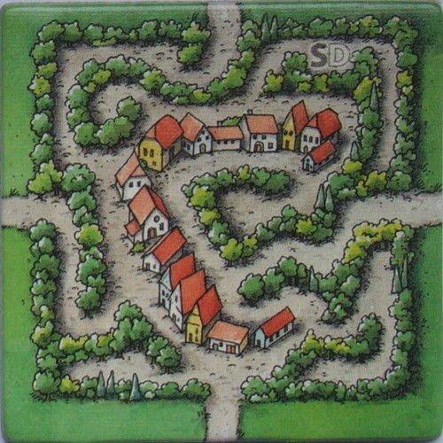 Carcassonne Tessera Promo Labirinto (Old)  (Stato: Nuovo)