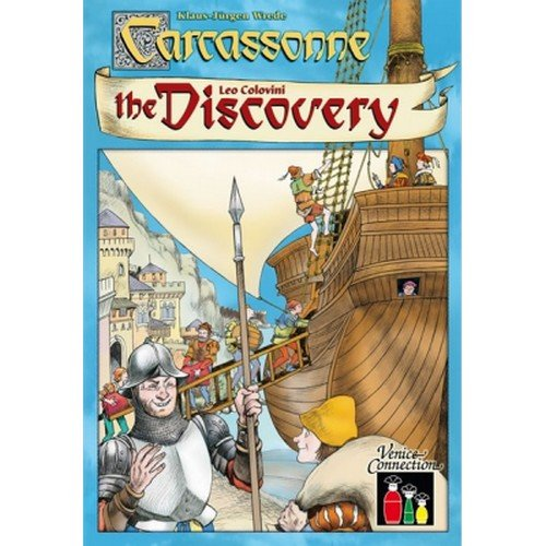 Carcassonne: The Discovery  (Lingua: Italiano - Stato: Nuovo)