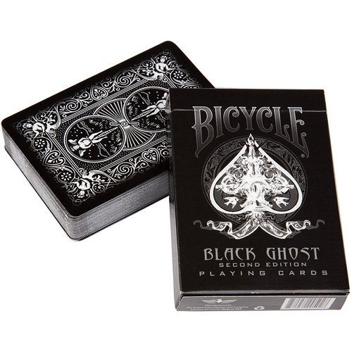 Carte Bicycle Black Ghost  (Stato: Nuovo)