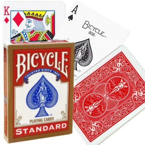 Carte Bicycle Standard Rosso  (Stato: Nuovo)