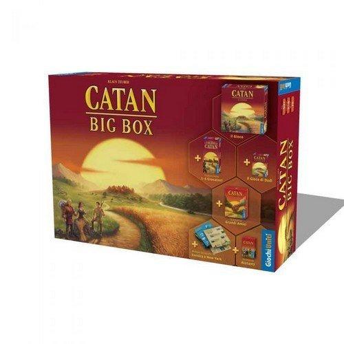 Catan Big Box (2021)  (Lingua: Italiano - Stato: Nuovo)