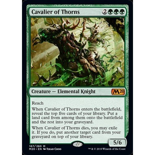 Cavalier of Thorns  (Language: English - Conditions: Near Mint)