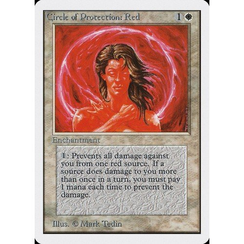 Circle of Protection: Red  (Lingua: Inglese - Stato: Near Mint)