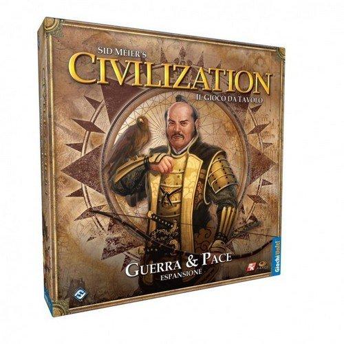 Sid Meier's Civilization: Guerra & Pace  (Lingua: Italiano - Stato: Nuovo con Scatola Danneggiata)